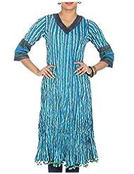 Rajrang Women Printed Tops Tunic Long Kurti Size L