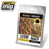 Ammo Of Mig Jimenez 1:32 35 48 Realistic Leaves Lime C Autumn #8404