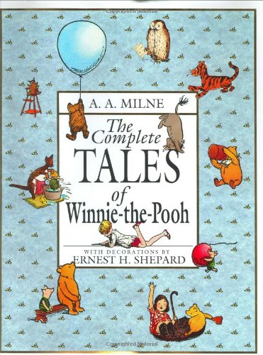 The Complete Tales of Winnie-The-Pooh Book Treasury