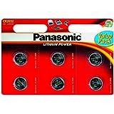 Panasonic Specialist Lithium Coin Batteries Cr2032 X 12