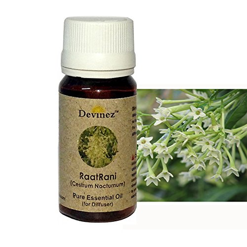 Devinez RaatRani Essential Oil For Electric Diffusers/ Tealight Diffusers/ Reed Diffusers, 30ml