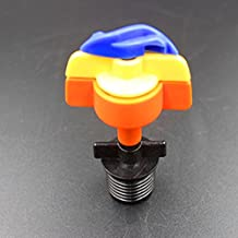 """Generic Micro Sprinkler With 1/2"""" Male Connector Greenhouse Misting Sprinkler Spinnet Rotating Nozzle BNT1001"""