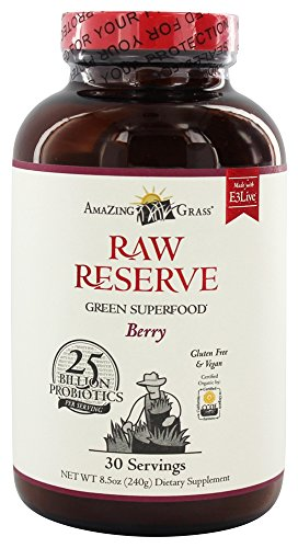 Amazing Grass - Raw Reserve Green Superfood Berry, 8.5 oz po