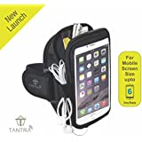 Tantra Mobi-Case Arm Band Adjustable Sports Running, Jogging, Gym, Yoga, Aerobics, Cycling Anti-slip Ultra Light...