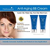 Hydroxatone Anti-Aging BB (Beauty Balm) Cream Universal Shade For ALL Skin Types SPF 40 (BONUS Pack Of 2 1.5 Ounce...