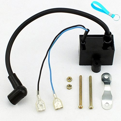 CDI Ignition Coil for 49cc 50cc 60cc 66cc 80cc 2-Stroke Engines Motor Motorized Bicycle Bike