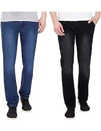 Fizzaro Men Pack Of 2 Slim Fit Jeans