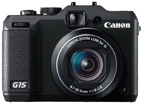 Canon デジタルカメラ PowerShot G15 約1210万画素 F1.8 光学5倍ズーム PSG15