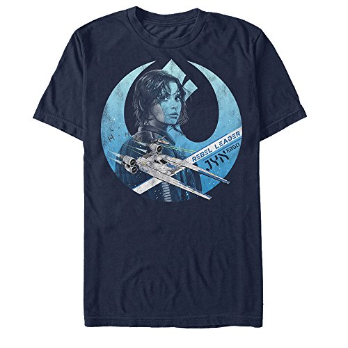 Star Wars Rogue One Jyn Erso Rebel Crest Mens Graphic T Shirt