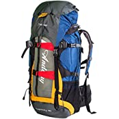 Andway® 60L Outdoor Internal Frame Backpack With Rainproof Cover And Adjustable Straps