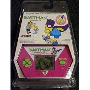 Click to buy Handheld electronic game: Simpsons Bartman, Avenger of Evil from Amazon!