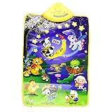 Voberr®Baby Kid Game Toys Animal Musical Touch Play Singing Gym Carpet Mat Baby Music Mat