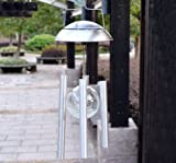 Solar Powered Color changing Light Wind Chimes Rotating LED Light Lamp For Yard Garden Home Festival Decor