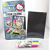 Hello Kitty Crayola Metallic Xtreme Coloring Pages And Markers