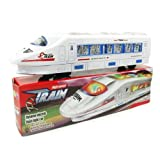 Electric Train Toy With Sound And Flashing Lights