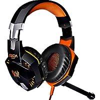 KOTION EACH G2000 USB 3.5mm Game Gaming Headphone Headset Earphone Headband With Mic Stereo Bass LED Light For...