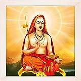 1506-Kanchi Sankaracharya-White (35.5x35.5)