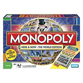 Monopoly Game Here & Now International Edition. Click to buy from Amazon!