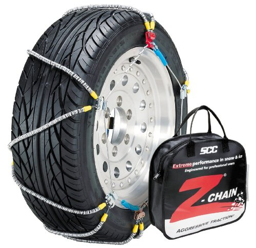 Security Chain Company Z-563 Z-Chain Extreme Performance Cable Tire Traction Chain – Set of 2