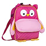 Yodo Playful Kids Lunch Boxes 3-Way Carry Bag And Toddler Backpack, Safe Insulated Lining, Large Fro