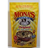 Mona's Original Granola, Only $5.99 Each, All-Natural ~ Zero Trans Fats ~ No Sugar, No Salt, No Preservatives...