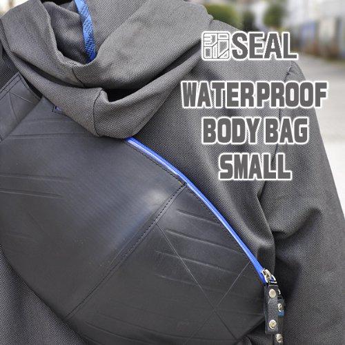 【+SEAL+%2F+シール+】+WATERPROOF+ボディバッグ+Sサイズ+OLCI+コラボモデル+(+斜めがけ+ショルダーバッグ+廃+タイヤチューブ+ワンショルダー+)