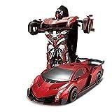 Remote Control Car,Smart Q [Car To Robot Transformation] [Transforming Car Robot] Remote Control Car Robot Toy... - B01B79O6HK