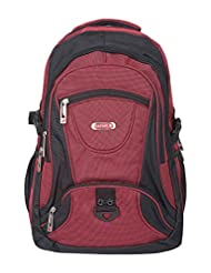 Safari Chase 27 Ltrs Red Casual Backpack (CHASE 108 BACK PACK)