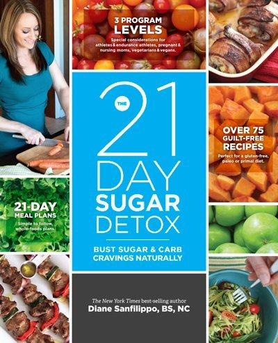 21-Day Sugar Detox by Diane Sanfilippo: Twenty one day SUGAR DETOX:21 Days Sugar Detox:Twenty First Day Sugar Detox