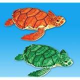 "12"" Brown/Green Sea Turtle Plush, Case Of 12"