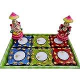Luxury Gifts By Nikki Diwali Decorative Diyas With Idols