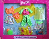 Barbie Great Getaways Fashions w Scuba Diving Gear - Easy To Dress (1997 Arcotoys, Mattel)