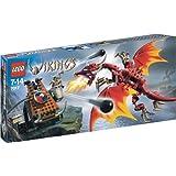 LEGO Vikings 7017 Viking Catapult Versus The Nidhogg Dragon