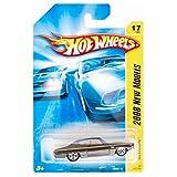 Hot Wheels Chevelle SS 69 Black 5 Spoke Chrome Carriage & Ends 2008 1/64 #17