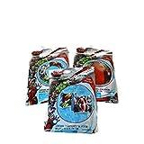 Avengers Pool Beach Bundle Of 3 Items; Beach Ball Swim Ring Arm Floats