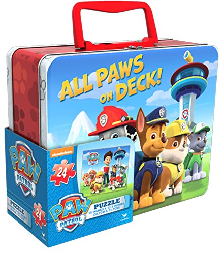 Paw Patrol Jigsaw Puzzle in Tin
