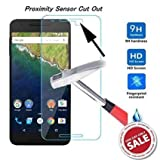 Cellwallpro Tempered Glass-Phone Care Tempered Glass For GOOGLE Nexus 6P/ Huawei Nexus 6P