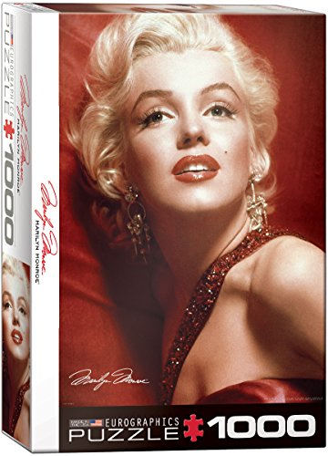 Marilyn Monroe Red Portrait by Sam Shaw 1000 Piece Puzzle