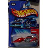 Hot Wheels 2004 First Edition Crooze W-oozie Motorcycle #46 046 46/100 1:64 Scale