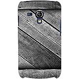 For Samsung Galaxy S3 Mini I8190 :: Samsung I8190 Galaxy S III Mini :: Samsung I8190N Galaxy S III Mini Grey Wood ( Grey Wooden Pattern, Wooden Pattern, Pattern, Grey Wood ) Printed Designer Back Case Cover By FashionCops - B074ZS97X8