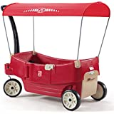 All Around Canopy Wagon Ride On A Multi Function Wagon For Nearly Every Use! Seats Flip Into A Flat Bed, Seat Or Table. Large Storage Capacity.