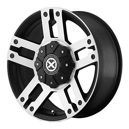 ATX Series AX190 Dune Satin Black Wheel With Machined Accents (17×8.5″/5×114.3, 127mm, +30mm offset)