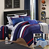 Chic Home 8-Piece Trevor Comforter Set with Shams Decorative Pillows and Sheet Set Twin