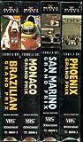 Formula One Grand Prix - Brazilian, Monaco, San Marino, Phoenix - 4 Tape Set