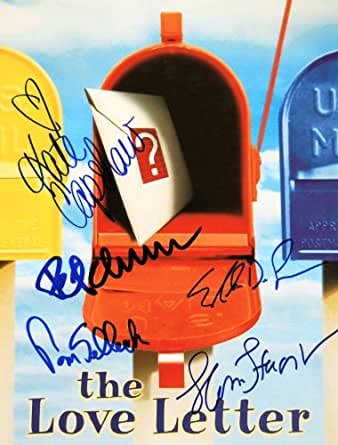 the love letter 1999 1999 the letter program cast signed autographed 30489