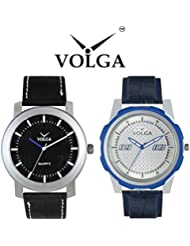 Volga Casual Watch Combo Offer For Men's Exclusive Branded Watch Combo For Boys And Mens