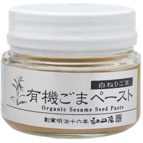 和田萬 有機ごまペースト 白ねりごま 80g フード 穀物・豆・麺類 胡麻(ごま) [並行輸入品]