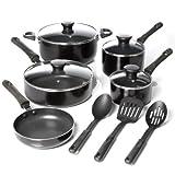 Oster 91420.12 Pierceton 12-Piece Cookware Set With 3-Piece Nylon Tools Set