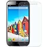 SNOOGG Micromax Canvas 4 A210Full Body Tempered Glass Screen Protector [ Full Body Edge To Edge ] [ Anti Scratch...