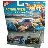 Mattel Hot Wheels 1996 Action Pack Series 1:64 Scale Die Cast Metal Car # 16155 - RACING Race To Vic